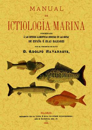MANUAL DE ICTIOLOGIA MARINA *