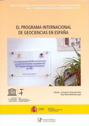 EL PROGRAMA INTERNACIONAL DE GEOCIENCIAS EN ESPAÑA *
