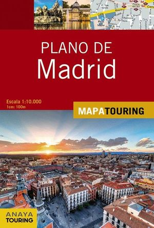 PLANO DE MADRID  1:10.000