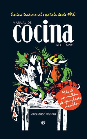 MANUAL DE COCINA. RECETARIO *