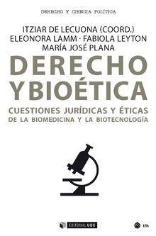 DERECHO Y BIOÉTICA *