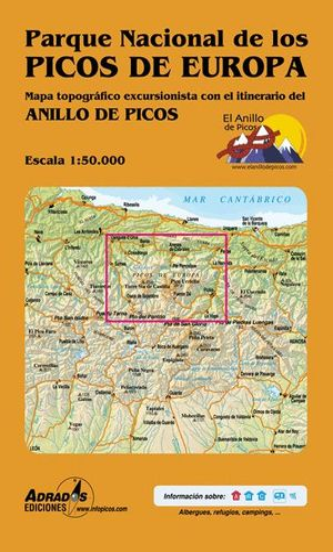 PARQUE NACIONAL DE LOS PICOS DE EUROPA  E.1:50,000