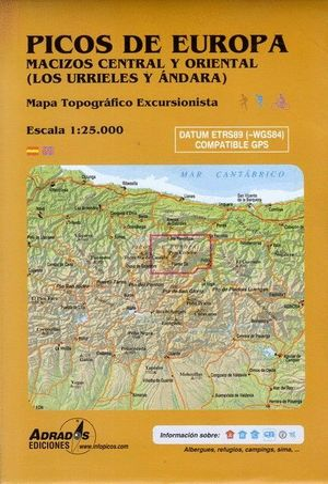 PICOS DE EUROPA. MACIZOS CENTRAL Y ORIENTAL (LOS URRIELES Y ANDARA)