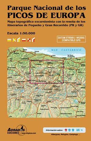 PARQUE NACIONAL DE LOS PICOS DE EUROPA1:50,000