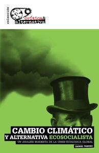 CAMBIO CLIMÁTICO Y ALTERNATIVA ECOSOCIALISTA *