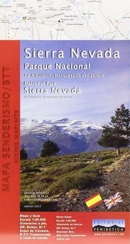 SIERRA NEVADA, PARQUE NACIONAL E.1:40,000 *