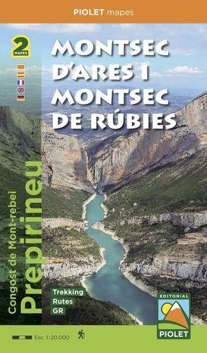 MONTSEC D'ARES I MONTSEC DE RÚBIES 1:20.000
