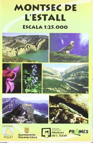 MONTSEC DE L'ESTALL E 1:25,000 *