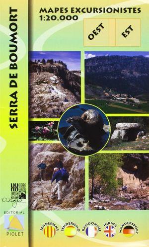 SERRA DE BOUMORT, MAPES EXCURSIONISTES E 1:20,000