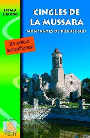 CINGLES DE LA MUSSARA, MUNTANYES DE PRADES SUD E 1:15,000