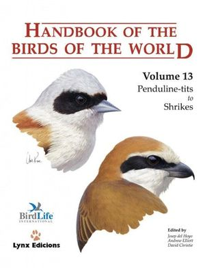 HANDBOOK OF THE BIRDS OF THE WORLD. VOL.13 *