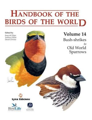 HANDBOOK OF THE BIRDS OF THE WORLD. VOL.14 *