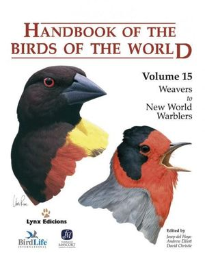 HANDBOOK OF THE BIRDS OF THE WORLD. VOL.15 *