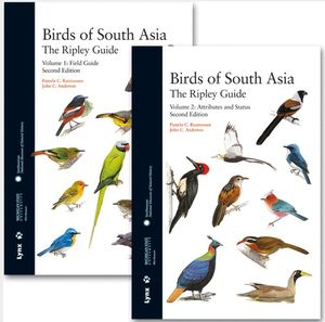 BIRDS OF SOUTH  ASIA: THE RIPLEY GUIDE (OBRA COMPLETA)