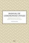 MANUAL DE CEREMONIAS CIVILES *