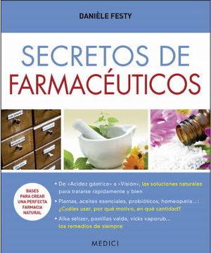 SECRETOS DE FARMACÉUTICOS *