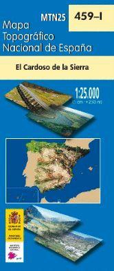459-1 CARDOSO DE LA SIERRA  E.1:25,000