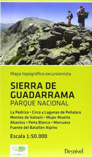 SIERRA DE GUADARRAMA, PARQUE NACIONAL E.1:50,000*