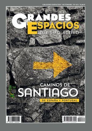 271 CAMINOS DE SANTIAGO DE ESPAÑA Y PORTUGAL. GRANDES ESPACIOS