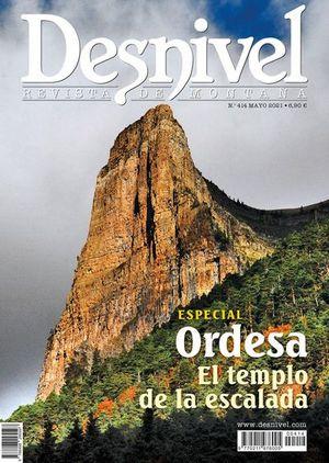 414 ORDESA. EL TEMPLO DE LA ESCALADA. DESNIVEL