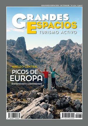 274 MACIZO CENTRAL. PICOS DE EUROPA. GRANDES ESPACIOS