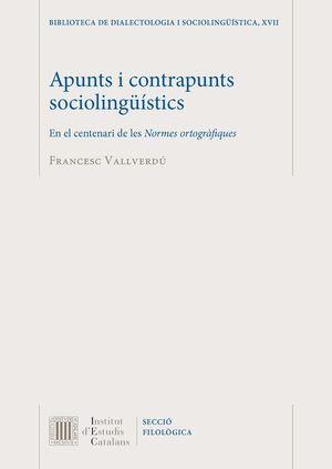 APUNTS I CONTRAPUNTS SOCIOLINGÜÍSTICS *