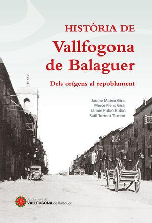 HISTÒRIA DE VALLFOGONA DE BALAGUER *
