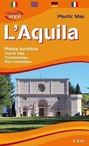 L'AQUILA, PIANTA TURISTICA 1:5.000 *