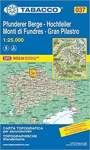 037  GRAN PILASTRO-MONTI DI FUNDRES / HOCHFEILER-PFUNDERER BERGE