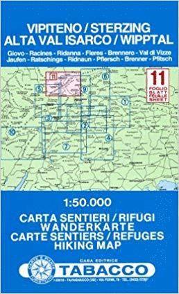 11  VIPITENO - ALTA VAL ISARCO / STERZING - WIPPTAL