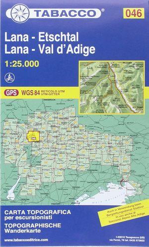 046  LANA-VAL D' ADIGE / LANA-ETSCHTAL