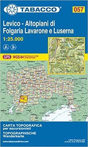 057 LEVICO - ALTOPIANI DI FOLGARIA-LAVARONE E LUSERNA