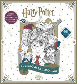 HARRY POTTER: EL LIBRO OFICIAL PARA COLOREAR *