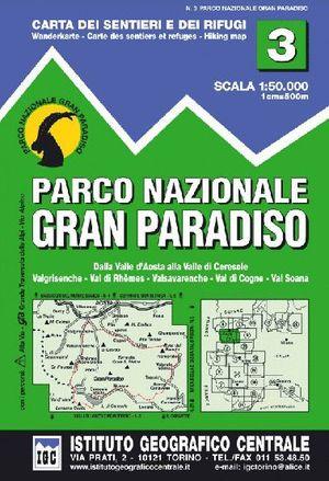 3 PARCO NAZIONALE DEL GRAN PARADISO   E. 1:50,000 *