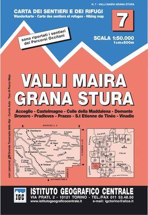 7 VALLI MAIRA, GRANA E STURA E.1:50,000 *