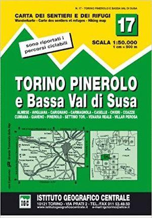 17 TORINO, PINEROLO E BASSA VAL DI SUSA 1:50.000 *
