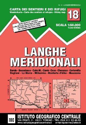18 LANGHE MERIDIONALI 1:50.000