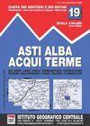 19 ASTI, ALBA, ACQUI TERME 1:50.000