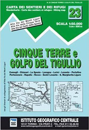 23 CINQUE TERRE E GOLFO DEL TIGULLIO 1:50.000 *