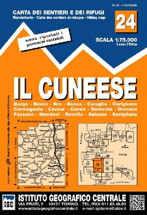 24 IL CUNEESE 1:75.000 *