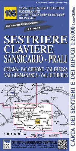 105 SESTRIERE CLAVIERE SANSICARIO PRALI E.1.25,0000