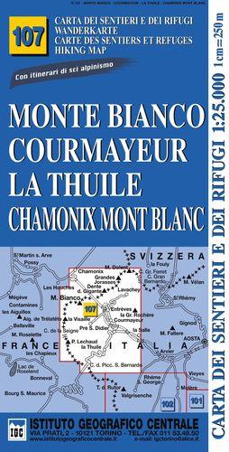 107 MONTE BIANCO , COURMAYEUR, LA THUILE, CHAMONIX MONT BLANC