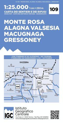 109 MONTE ROSA ALAGNA VALSESIA MACUGNAGA GRESSONEY