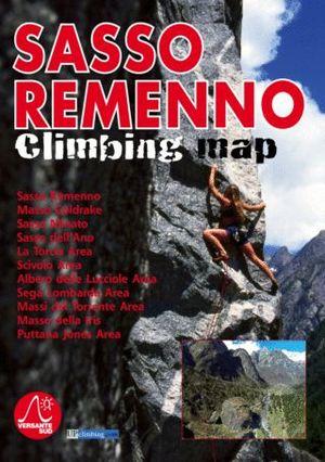 SASSO REMENNO CLIMBING MAP *