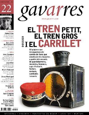 22 EL TREN PETIT, EL TREN GROS I EL CARRILET. GAVARRES