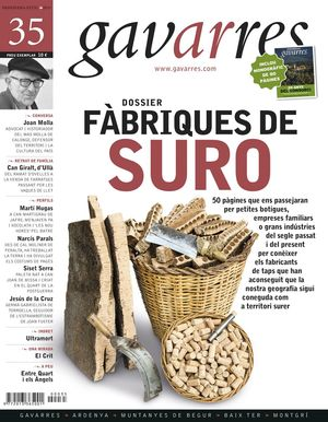 FÀBRIQUES DE SURO. GAVARRES Nº  35