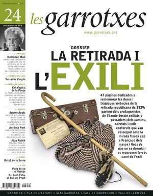 LA RETIRADA I L'EXILI. LES GARROTXES Nº 24