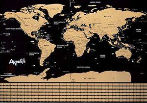 MAPA MUNDI PARA RASCAR – SCRATCH WORLD MAP (82X59) *