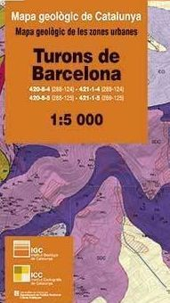 TURONS DE BARCELONA 1:5.000. GEOTREBALL III *