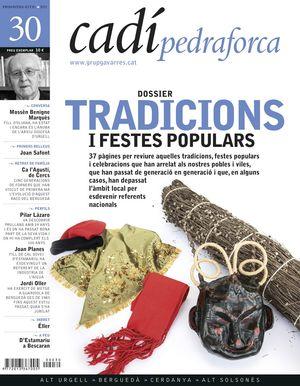30 TRADICIONS I FESTES POPULARS. CADÍ-PEDRAFORCA